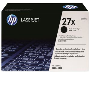 HP C4127X Black Toner Cartridge