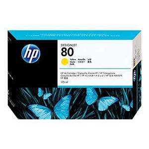 HP 80 C4873A Yellow Original Ink Cartridge