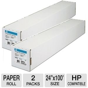 HP C6029C Bright White Inkjet Paper Roll