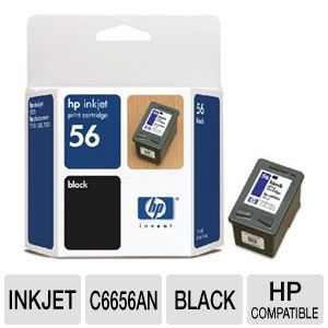 HP 56 Black Ink Cartridge REFURB