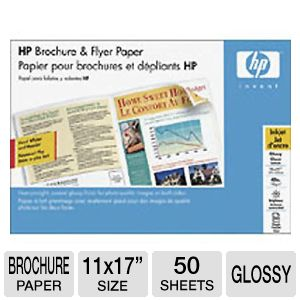 HP 11 x 17  inch Brochure and Flyer Paper