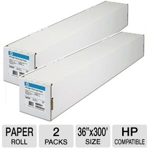 HP C6980A Coated Paper Roll