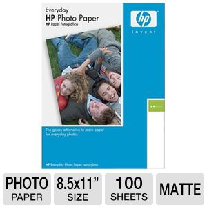 HP Photo Paper Quality Inkjet Paper Matte