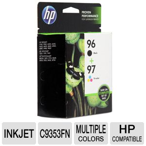 HP 96/97 Inkject Cartridge Combo Pack