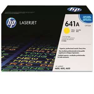 HP 641A C9722A Yellow Toner Cartridge
