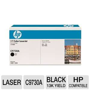 HP 645A C9730A Black Laserjet Toner Cart 13K Yd