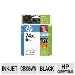 HP 74XL CB336WN#140 High Yield Black Cartridge