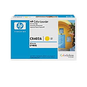 HP CB402A Yellow Toner Cartridge for CLJ CP4005