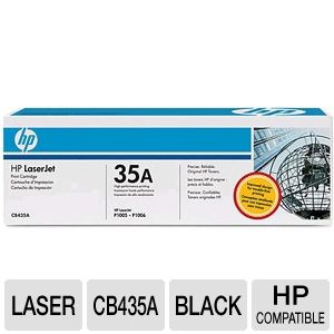 HP 35a LaserJet Black Smart Print Cartridge 5-Pack
