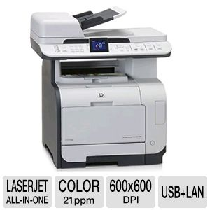 HP LaserJet CM2320nf Color Multifunction / Network