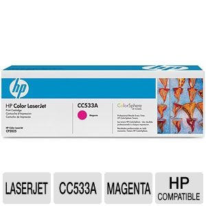 HP CC533A  Color LaserJet CP2025 Magenta To REFURB