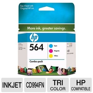 HP 564 Combo Pack (CD994FN)
