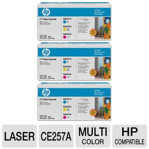 HP Color LaserJet Q6001A, Q6002A, Q6003 Toner