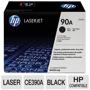 HP 90A CE390A Black LaserJet Toner Cartridge 10KYd