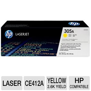 HP 305A Yellow LaserJet Cartridge