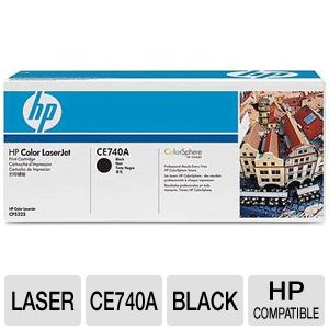HP Color LaserJet CE740A Black Print Cartridge