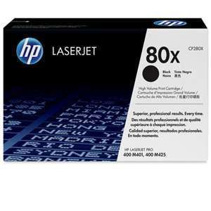 HP 80X Black LaserJet Toner Cartridge - Up to 6,90