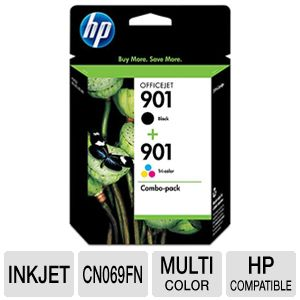 HP 901 OfficeJet Combo Cartridge Pack