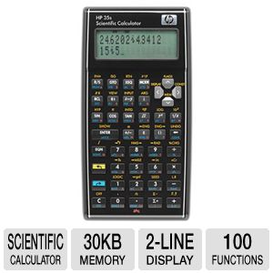 HP 35S Pro Scientific Calculator