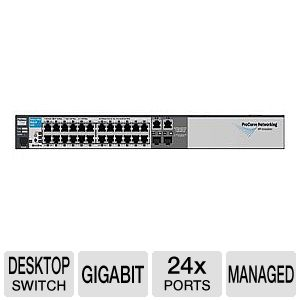 HP E2510-24 Switch - switch - 24 ports - managed