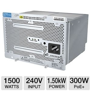 HP 1500W PoE+ zl Power Supply