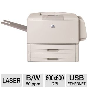 HP Laserjet 9050dn Mono Laser Printer