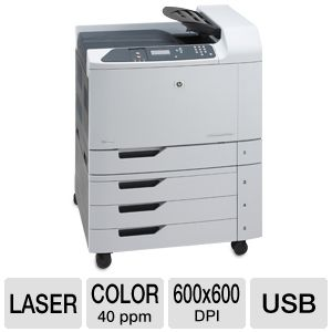 HP LaserJet CP6015xh Color Laser Printer