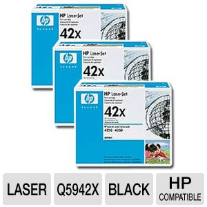 HP Q5942X Cartridge (3-Pack)