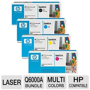 HP Q6000A/ Q6001A/ Q6002A/ Q6003A Toner Set