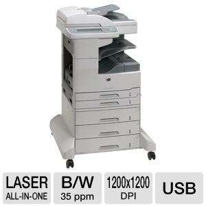 HP LaserJet M5035xs MultiFunction Laser Printer