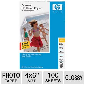 HP Advance Glossy Photo Paper