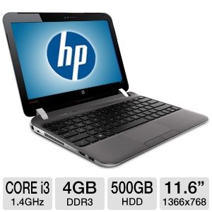 "HP 11.6"" Core i3 11.6 500GB HDD Laptop REFURB"