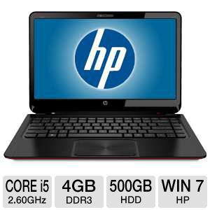 "HP ENVY 14"" Core i5 500GB HDD Ultrabook"