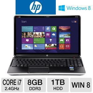 "HP ENVY dv6 15.6"" Core i7 1TB HDD Notebook"