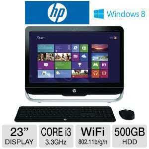 "HP 23"" Core i3 500GB HDD 6GB DDR3 All-In-One PC"
