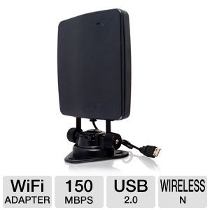 Hawking 150Mbps Hi-Gain Wireless N USB 2.0 Adapter