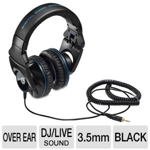Hercules HDP DJ-Pro M1001 DJ Over-Ear Headphones