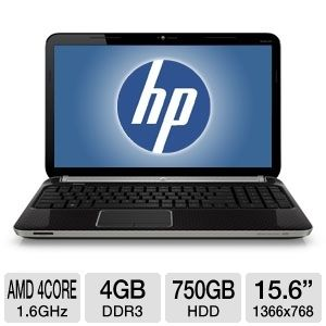 HP Pavilion dv6-6128ca 15.6&quot; Notebook PC