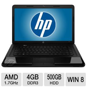 "HP 2000-2b20CA 15.6"" E2-1800 Notebook PC"