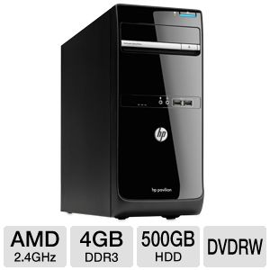HP Pavilion E2-3200 4GB, 500GB HDD Desktop PC