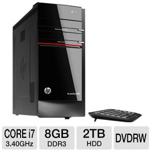 HP Pavilion 3rd Gen Core i7 2TB Desktop PC