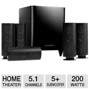 Harman Kardon HKTS 60BQ 5.1 Home Theater System