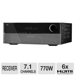 Harman Kardon AVR 3650 7.1 Channel A/V Receiver