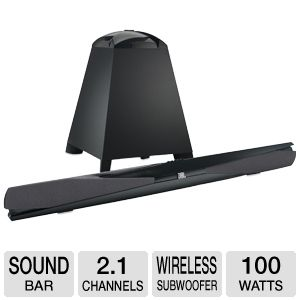 JBL by Harman Cinema SB300 2.1 Soundbar System