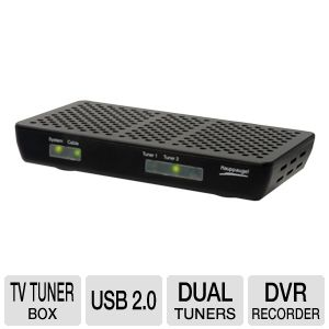 Hauppauge WinTV Dual Tuner Cable Card TV Tu REFURB