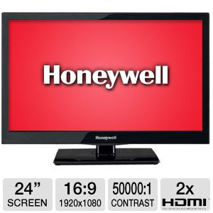Honeywell 24&quot; 1080p 60Hz LCD HDTV/DVD Combo