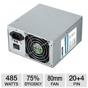 HEC Orion 485W Power Supply