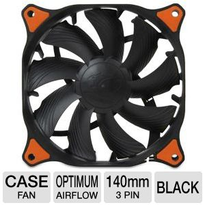 Cougar Vortex HDB 140mm Case Fan in Black