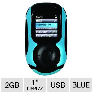 Haier HHS1A-2G 2GB Sport MP3 Player