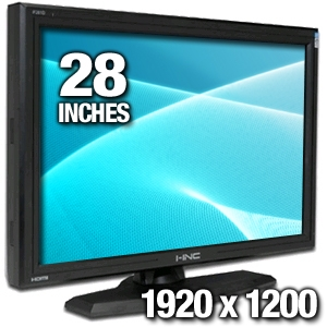 "I-Inc iF-281DPB 28"" Class Widescreen LCD Monitor"